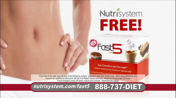 Nutrisystem Fast 5 TV Spot, 'Michelle' - Thumbnail 2
