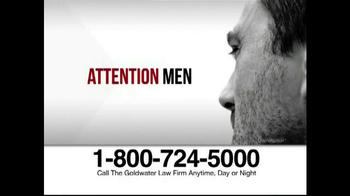 Goldwater Law Firm TV Spot, 'Testosterone' - Thumbnail 1