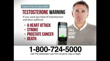 Goldwater Law Firm TV Spot, 'Testosterone' - Thumbnail 2