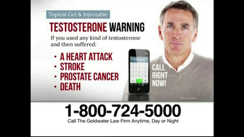 Goldwater Law Firm TV Spot, 'Testosterone' - Thumbnail 3