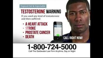 Goldwater Law Firm TV Spot, 'Testosterone' - Thumbnail 7