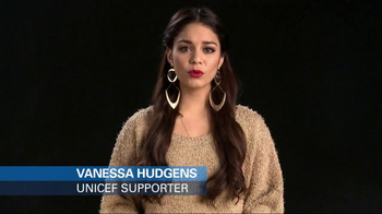 UNICEF USA TV Spot, \'Typhoon Haiyan\' Featuring Vanessa Hudgens