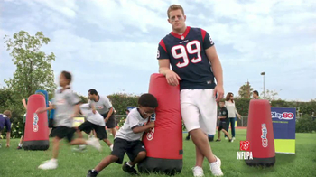 NFL PLay 60 TV Spot Featuring J.J. Watt