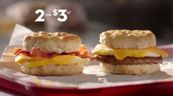 Jack in the Box Breakfast Biscuits TV Spot, 'Bad Decisions' - Thumbnail 4
