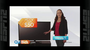 Quibids.com TV Spot, 'Real Customers'