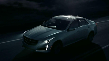 2014 Cadillac CTS Sedan TV Spot, 'Moon' Song by Ulrich Schnauss - Thumbnail 4