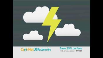 Cash Net USA TV Spot, 'We've Got You Covered'