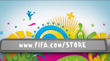 FIFA World Cup Brazil Merchandise TV Spot