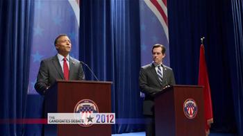 Tostitos Scoops TV Spot, 'Presidential Debate'