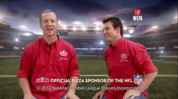 Papa John's Night TV Spot, Featuring Peyton Manning - 2 commercial airings