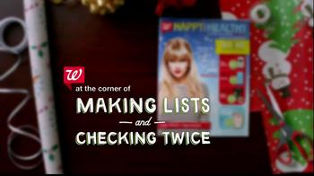 Walgreens Happy and Healthy Magazine TV Spot, 'Taylor Swift' - Thumbnail 1