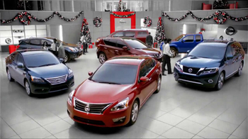 Nissan Season to Save TV Spot, 'Holiday Bonus Cash' - Thumbnail 2