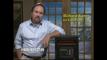 EdenPURE Personal Heater TV Spot, 'Winter' Featuring Richard Karn