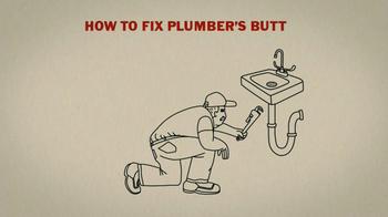 Duluth Trading TV Spot 'Plumbers Butt'