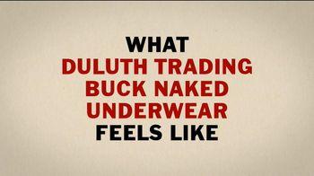 Duluth Trading TV Spot, 'Buck Naked Underwear' - Thumbnail 3