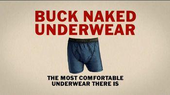 Duluth Trading TV Spot, 'Buck Naked Underwear' - Thumbnail 5