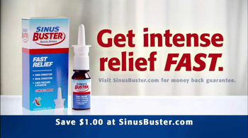 Sinus Buster Nasal Spray TV Spot, 'Tunnel' - Thumbnail 9
