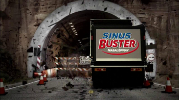 Sinus Buster Nasal Spray TV Spot, 'Tunnel' - Thumbnail 3