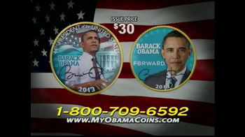 Obama Coins TV Spot  - Thumbnail 3