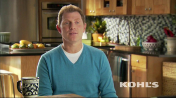 Kohl's TV Spot, 'Thanksgiving' Featuring Bobby Flay