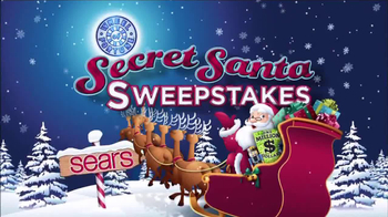 Sears Secret Santa Sweepstakes TV Spot
