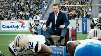 Capital One TV Spot, 'Footbal Trip' Featuring Alec Baldwin