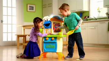 Playskool Cookie Monster Kitchen Cafe TV Spot