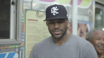 Samsung Galaxy Note II TV Spot, 'Big Day' Featuring LeBron James