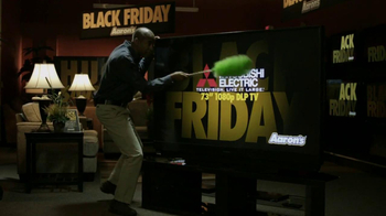 Aaron's Black Friday TV Spot, 'Dusting'  - Thumbnail 2