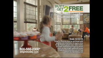 Empire Today Buy 1, Get 2 Free Sale TV Spot  - Thumbnail 8