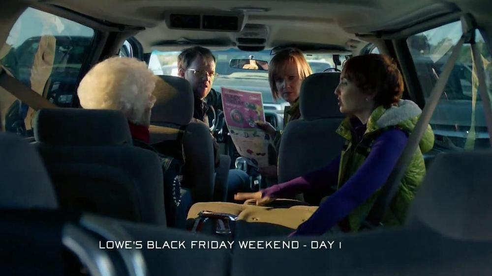 lowe 39 s black friday sale tv spot. Black Bedroom Furniture Sets. Home Design Ideas