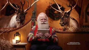 Rosetta Stone TV Spot, 'Spanish-Speaking Santa'