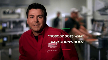 Papa John's TV Spot, 'Better' - Thumbnail 4