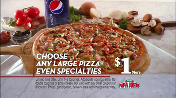 Papa John's TV Spot, 'Better' - Thumbnail 8