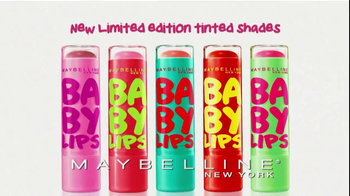Maybelline New York Baby Lips TV Spot
