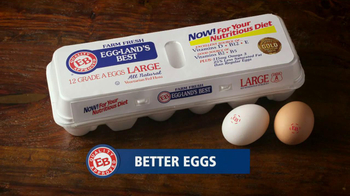 Eggland's Best TV Spot, 'More Vitamins Less Saturated Fat'