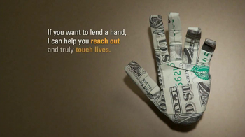 Ad Council Hurricane Sandy TV Spot, 'Dollar Origami'