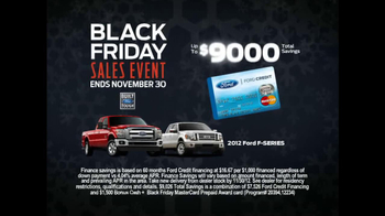 Ford Black Friday TV Commercial, 'Waiting' Featuring Mike ...