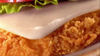 Wendy's Mozzarella Chicken Supreme TV Spot, 'Holiday Play' - Thumbnail 8