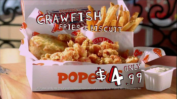 Popeyes TV Spot, 'Annual Crawfish Festival'