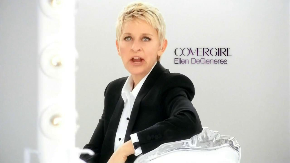 CoverGirl Olay+ Simply Ageless TV Commercial, Featuring Ellen DeGeneres