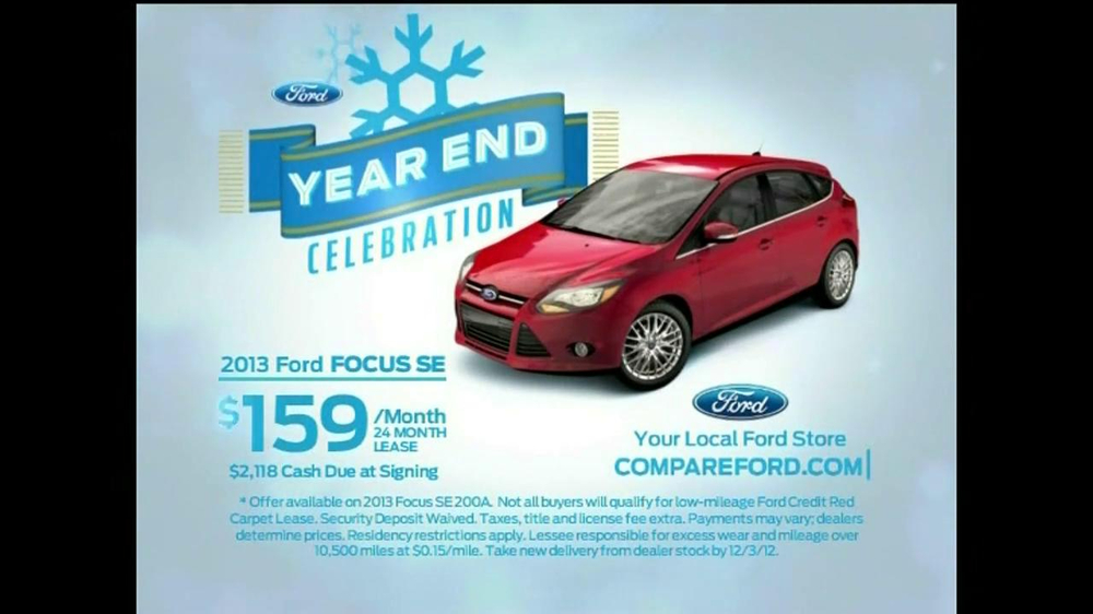 Ford Year End Celebration TV Commercial, 'The New Focus ...