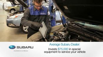 Subaru Service TV Spot, 'The Best' - Thumbnail 5