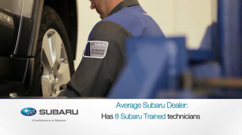 Subaru Service TV Spot, 'The Best' - Thumbnail 6