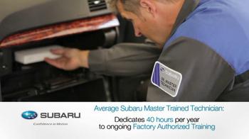 Subaru Service TV Spot, 'The Best' - Thumbnail 7