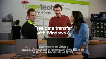 Staples TV Spot 'Free Data Transfer'