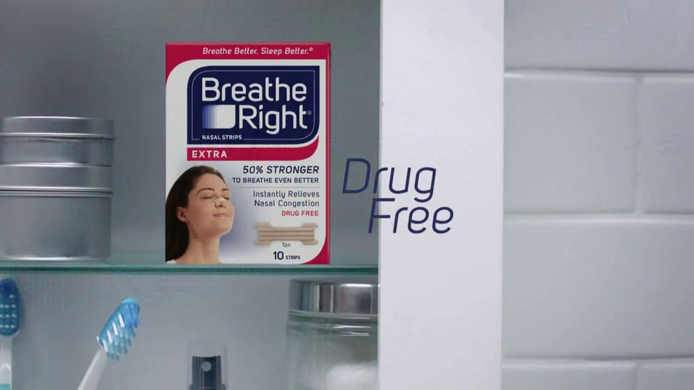Breathe Right Tv Commercial Nightly Stuffy Nose Thing
