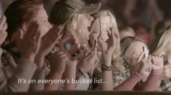 Garth Brooks World Tour TV Spot, 'Bucket List' - 1 commercial airings
