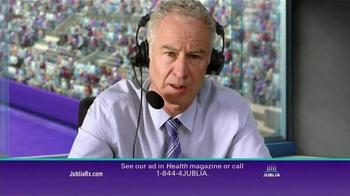Jublia TV Spot, 'Tennis' Featuring John McEnroe