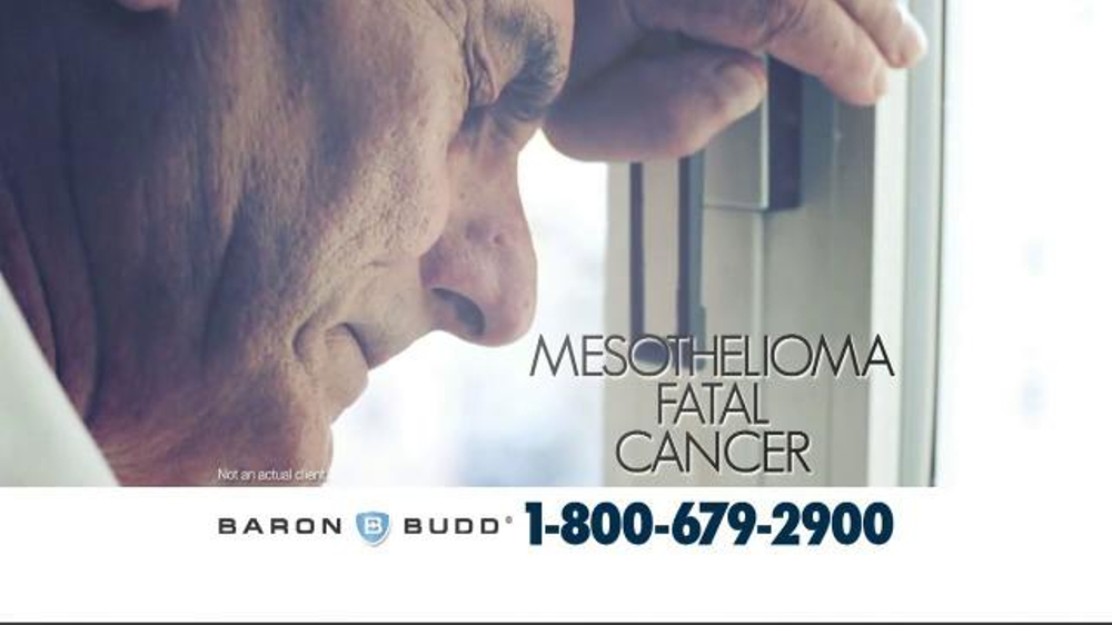 Baron & Budd, P.C. TV Commercial, 'Mesothelioma and Asbestos ...